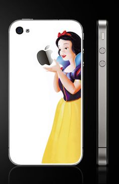 Snow White  -  iphone decal iphone4/4s decal iphone 5 decal on Etsy, $7.50