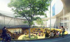 MVRDV to create xili sports and cultural center for shenzhen