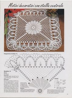 Best 11 New melange crochet doily inches-crochet tablecloth-crochet doilies-christmas gift-melange doily-medium doily-pink doily – SkillOfKing. Filet Crochet, Crochet Doily Diagram, Crochet Doily Patterns, Crochet Chart, Crochet Squares, Thread Crochet, Crochet Motif, Diy Crafts Crochet, Crochet Home
