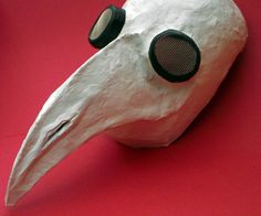Plague doctor mask for Halloween.