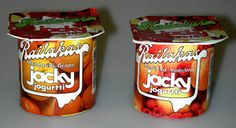 Jacky-jugurtit 1980-luvun alkupuolelta.