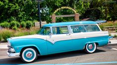 1955 Ford Parklane Station Wagon