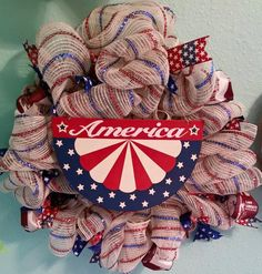 Hey, I found this really awesome Etsy listing at https://www.etsy.com/listing/236720155/july-4th-patriotic-wreath
