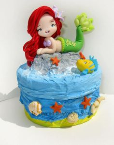 Ariel clay by ~tanadelbianconiglio on deviantART