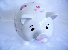 Piggy bank personalized piggy bank piggy bank with