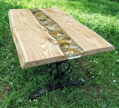 Creek Table- could see this inside or on a porch