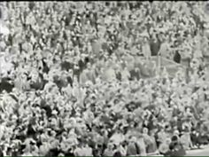 Lou Gehrig's Farewell speech July 4, 1939. A truly inspiring individual.