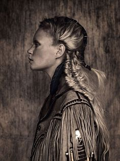 these fish tail plaits look very native american