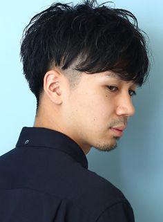 ☆大人の無造作ツーブロック(髪型メンズ)