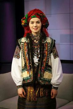 Ukrainian folk costume