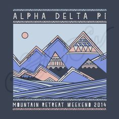 Sorority Social Alpha Delta Pi Tribal Mountain Retreat South By Sea