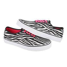 cc9d620806 Vans Shoes - VANS Classics Authentic Zebra Animal Print