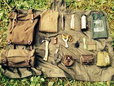 Fallen Timbers — Bushcraft kit.