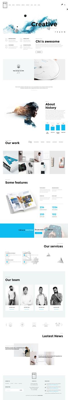 CHI is responsive bootstrap HTML Template for multipurpose #business websites with 30 creative homepage layouts Download Now➝ https://themeforest.net/item/chi-responsive-creative-html-template/16479926?ref=Datasata