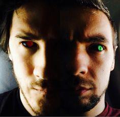Antisepticeye and Darkiplier