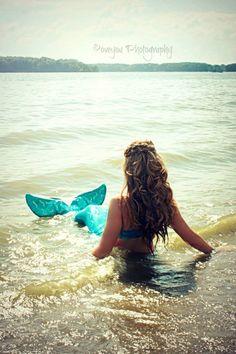 Real life Mermaid series