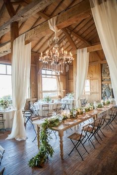 barn wedding reception decoration ideas #wedding #weddingideas #barnwedding