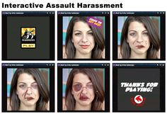 Anita Sarkeesian collection: Image based harassment and visual misogyny - interactive game allows user to exercise symbolic violence Anti Feminist, Base, Exercise, Woman, Collection, Ejercicio, Excercise, Tone It Up, Work Outs