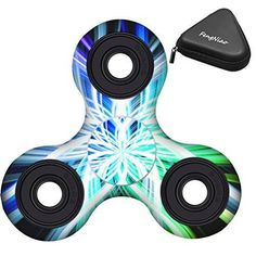 Tri-Spinner Fidget Toy with Ultra Fast Bearing (Cool)