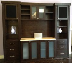 Chocolate Media Center - San Antonio Showroom | www.texashomeorganizationblog.com