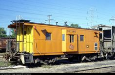 RailPictures.Net Photo: MILW 992186 Milwaukee Road Caboose #992186 at Portage, Wisconsin by Tom Farence