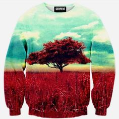 Red Wish Tree Sweatshirt