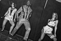 The Dance Studio, Leeds. Re-creating the Thriller dance!