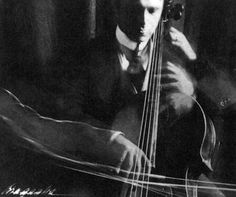 Photographic Composition - The Cellist