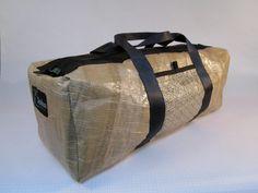 Recycled Kevlar Sailcloth Duffel Bag- Medium