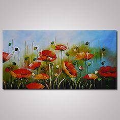pintada a mano abstracto paisaje un panel lienzos pintura al leo pintada a colgar for decoracin