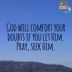 #Comforter #God #Christianity #ProjectInspired