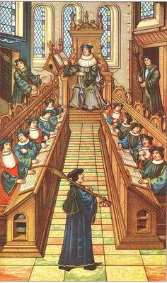 The posthumous retrial of Joan of Arc authorized by Pope Callixtus III, * Alfons de Borja)  ca 1456