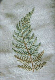 .jpg Image Only. Link Broken. Looks like the Japanese Stitch or Outline Stitch. Great Leaf. jwt