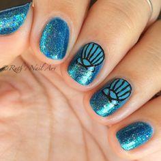 Mermaid Nails #ruthsnailart #nailart