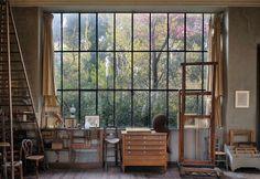 Atelier donde trabajó Cezánne en Aix en Provence