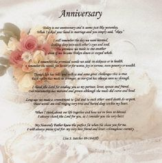 poems Special 30th Wedding Anniversary Gifts for Mom and Dad ...