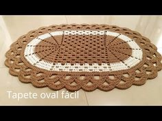 super Ideas for crochet doilies placemat rugs Crochet Table Mat, Crochet Mat, Crochet Carpet, Crochet Pillow, Crochet Doilies, Different Crochet Stitches, Crochet Stitches Patterns, Doily Patterns, Ravelry Free Patterns