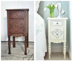 DIY Dekoideen für bemalte Möbel - #DIY-Doityourself