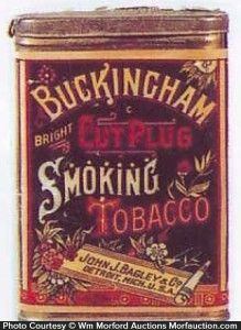 Rare Buckingham Pocket Tin