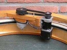 Jan van Gastel: Motorizing a 12 inch lightweight Dob