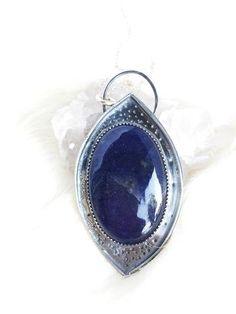 Astralis - Sunstone in Iolite Necklace