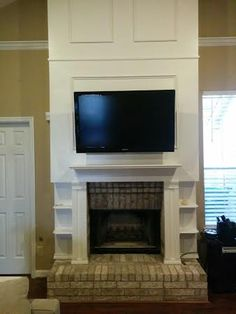 158 best tv above the fireplace images tv on wall wall mounted tv tv wall mount. Black Bedroom Furniture Sets. Home Design Ideas