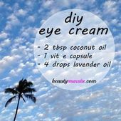 How to Use Essential Oils for Under Eye Wrinkles & 5 DIY Recipes! & beautymunsta & free natural beauty hacks and more! DIY Coconut Oil and Vitamin E Eye Cream The post How to Use Essential Oils for Under Eye Wrinkles Vitamin E Eye Cream, Under Eye Wrinkles, Face Wrinkles, Coconut Oil For Acne, Coconut Cream, Cellulite Scrub, Les Rides, Perfume, Natural Beauty Tips