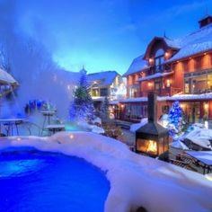 Spa & Hôtel Le Finlandais hiver
