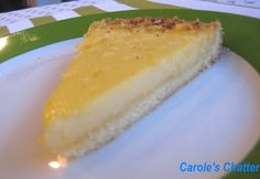 Carole's Chatter: Lemon Tart - Delicious but Sinful