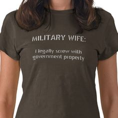 HAHAHAHAHAHA This is perfect! I wonder if anyone at SeaTac would be offended if I wore this when my hubby comes home on leave.... :)