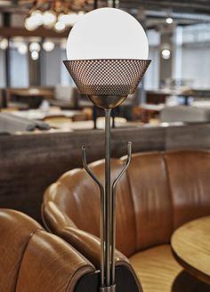 restaurant lighting & coat hanger | DROPBOX CAFETERIA | AvroKo | A Design…