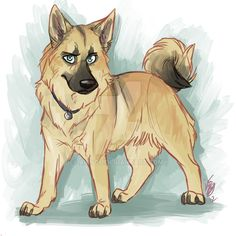 Spn dogs: Adam by Aibyou on DeviantArt