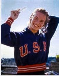 Carin Cone Vanderbush / USA Olympic swimmer / Suzannah Vanderbush