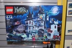 Monster Fighters - 9468 Vampire Castle - 02    949 pieces  $99.99 USD  $129.99 CAD  Available in August Vampire Castle, Dracula, Lego Sets, Legos, Toys, Art, Activity Toys, Art Background, Lego Games